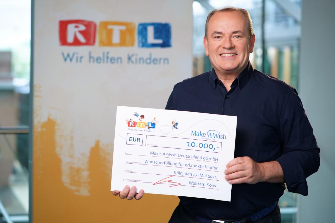 Make-A-Wish-Deutschland-Aktuelles-RTL Spende